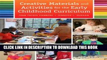 Collection Book Creative Materials and Activities for the Early Childhood Curriculum