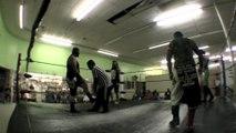 Lowrider & Syrus vs Sangre Guerrera Jr and Maligno (CMMLL)