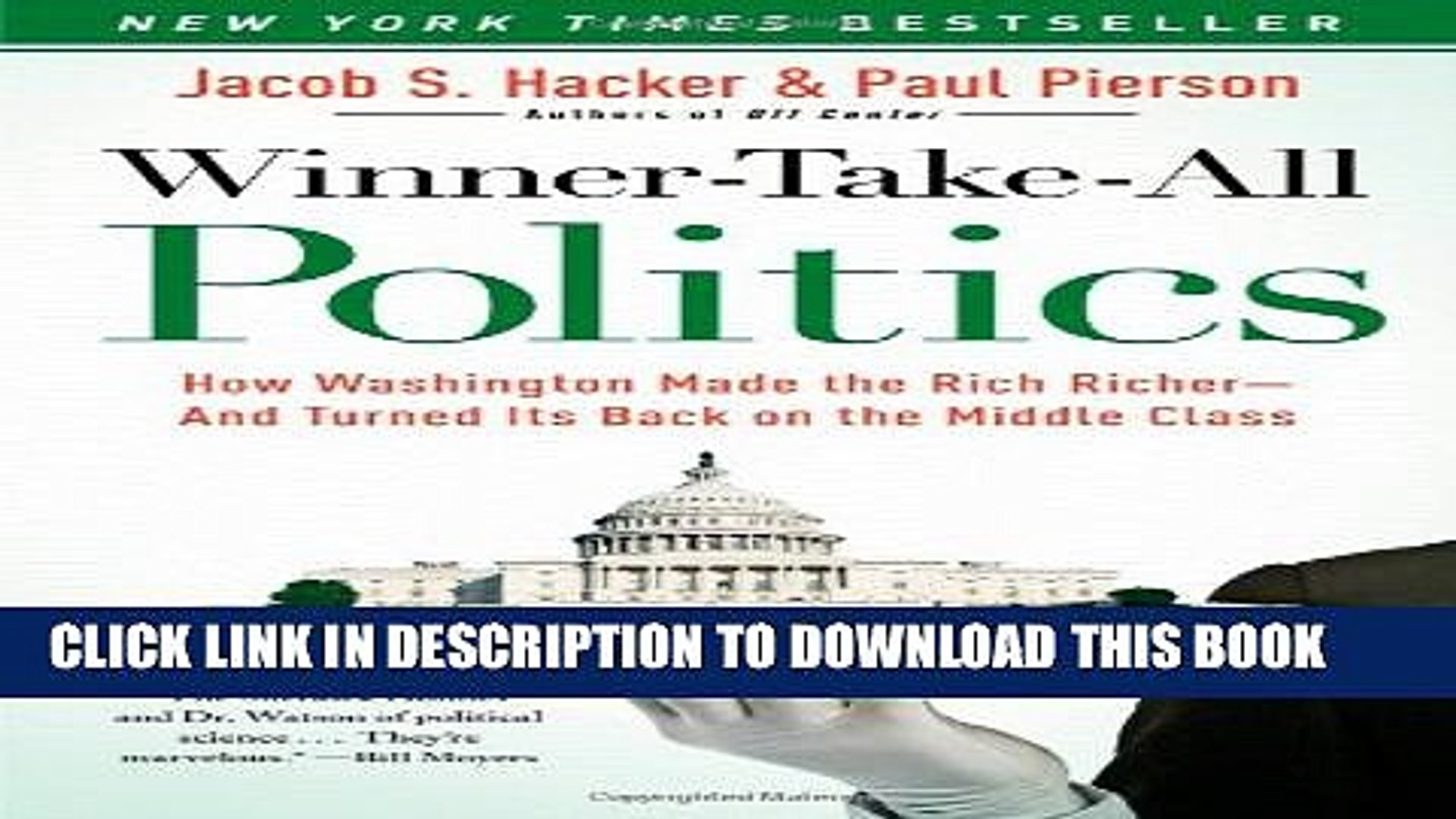 [PDF] Winner-Take-All Politics: How Washington Made the Rich Richer--and Turned Its Back on the