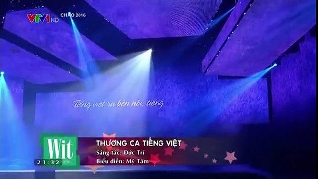 """Mỹ Tâm dịu dàng trong tà áo dài với ca khúc """"Thương ca tiếng Việt"""" ở """"Chào 2016"""""""