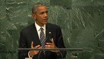 ONU : Dernier discours présidentiel d'Obama devant l'assemblée