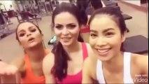 Những hoạt động nổi bật của Hoa hâu Phạm Hương tại Miss Universe 2015