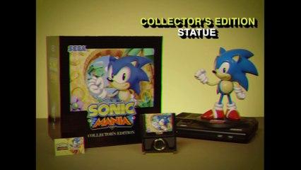 Sonic Mania - Trailer rétro pour l'édition collector de Sonic Mania