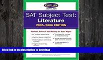 READ  SAT Subject Tests: Literature 2005-2006 (Kaplan SAT Subject Tests: Literature) FULL ONLINE