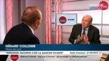 Gérard Collomb enterre François Hollande et porte aux nues Emmanuel Macron