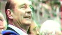 Quand Jacques Chirac scandait le nom des joueurs de l'équipe de France