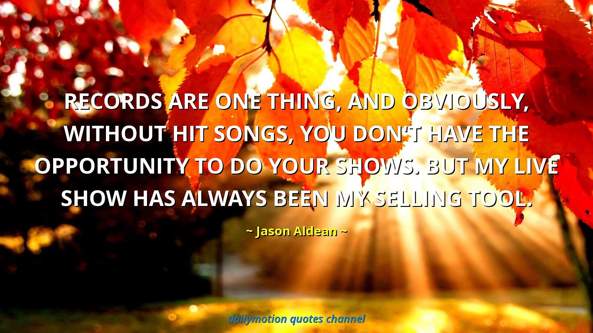 Jason Aldean Quotes #3 - video dailymotion