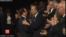 Remise du diplôme de la fondation Chirac