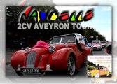 2CV AVEYRON TOUR : étape à Naucelle