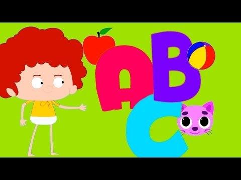 abc música | aprender alfabetos | compilação canções infantis