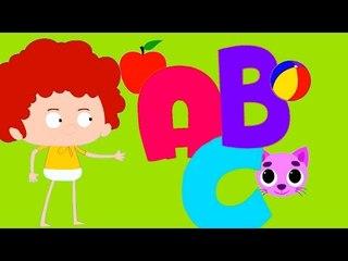 abc música   aprender alfabetos   compilação canções infantis