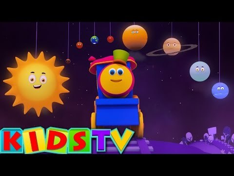 Bob The Train | Planets Song | Planets Ride with Bob | Space Adventure