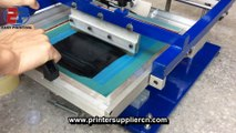 cylindrial screen printing machine for paper cup,sanitary cup screen printing machine