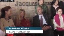 Jacques Chirac drague Sophie Dessus en 2011