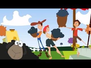 Baa Baa ovejas negro | Canciones de cuna para niños