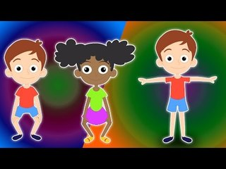 Cabeza Hombro | Cartoon para niños | Popular Nursery canción | Head Shoulder