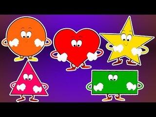 La canción de las formas | Famoso Formas Videos para Niños en Español