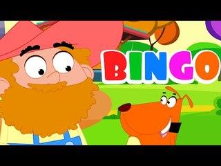 Bingo  cane canzone filastrocche per bambini in italiano