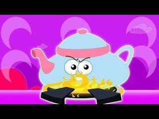 я немного чайника | дошкольная песня | стишок для детей | I Am A Little Teapot | Baby Song Video