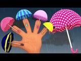 umbrella finger family | nursery rhymes | rain rain go away | 3d rhymes | kids songs