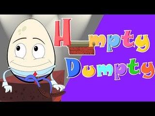 Humpty Dumpty saß auf einer Wand | -Kinderreimbild in Deutsch