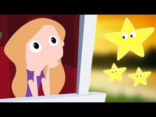 Twinkle Twinkle Little Star | Kompilation für Kinder | Beliebt Kinderlieder