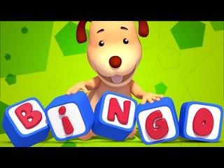 BINGO | 3D Nursery Rhymes | Baby Songs | Childrens & Kids Video