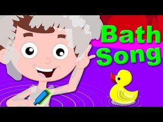 bath song   kids rhyme   nursery rhymes   baby videos