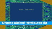 [PDF] Paul Verlaine Popular Online