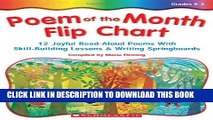 Collection Book Poem Of The Month Flip Chart: 12 Joyful Read-Aloud Poems With Skill-Building