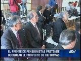 Frente de pensionistas presenta medida cautelar ante la CIDH