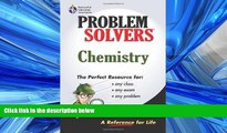 Enjoyed Read Chemistry Problem Solver (Problem Solvers Solution Guides)