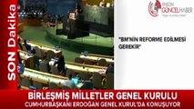 Cumhurbaşkanı Erdoğan BM Genel Kurulunda konuşurken ABD'li Kadın çıldırdı