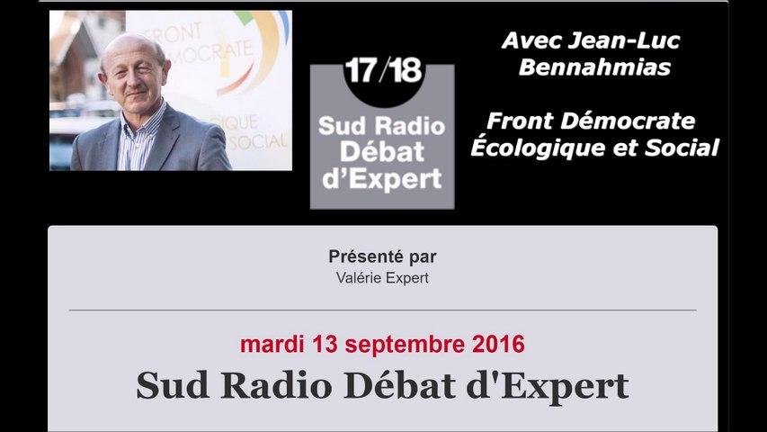 Jean-Luc Bennahmias : Les réfugiés en France
