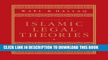 [PDF] A History of Islamic Legal Theories: An Introduction to Sunni Usul al-fiqh Full Collection
