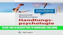 [PDF] Handlungspsychologie. Planung und Kontrolle intentionalen Handelns Full Colection