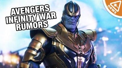Avengers Infinity War Plot Rumors Leaked! (Nerdist News w/ Jessica Chobot)