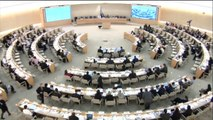Mehran Baluch, speaks at UN human rights council about Pakistan's atrocities against Baloch nation