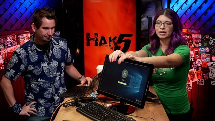 Snagging Creds From A Locked Machine With a LAN Turtle - Hak5 2104