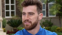 """Chiefs' Travis Kelce Describes His Perfect Woman & Talks """"Catching Kelce"""" Show"""