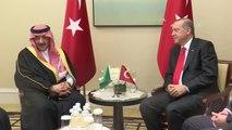 Cumhurbaşkanı Erdoğan, Suudi Arabistan Veliaht Prensi Abdulaziz Al-Suud ile Görüştü - New