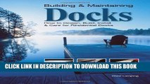 [PDF] Building   Maintaining Docks: How to Design, Build, Install   Care for Residential Docks
