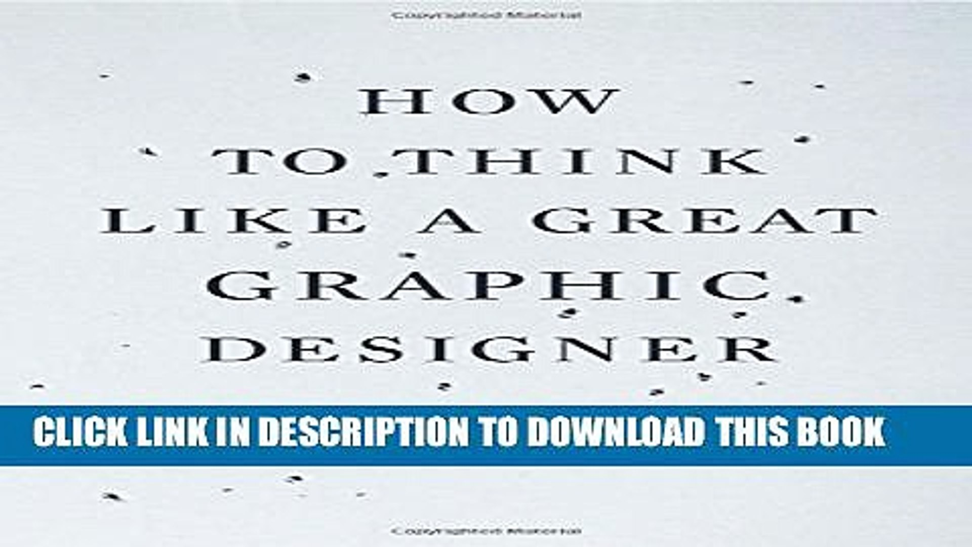 [PDF] How to Think Like a Great Graphic Designer Full Colection