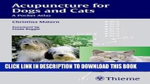 Collection Book Acupuncture for Dogs and Cats: A Pocket Atlas