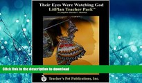 FAVORIT BOOK Their Eyes Were Watching God LitPlan - A Novel Unit Teacher Guide With Daily Lesson