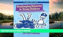 READ  Challenging Behavior in Young Children: Understanding, Preventing and Responding