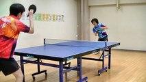 Trick shots amusants au ping-pong