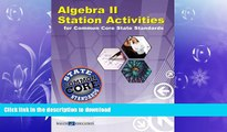 READ  Algebra II Station Activities for Common Core Standards (Station Activities for Common Core