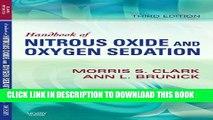 New Book Handbook of Nitrous Oxide and Oxygen Sedation