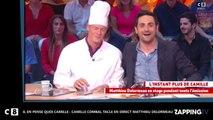 Il en pense quoi Camille ? : Matthieu Delormeau taclé en direct par Camille Combal (Vidéo)